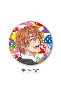 プレイフルマインドカンパニー 「ヤリチン☆ビッチ部」 3WAY缶バッジ C