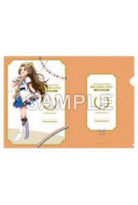 Gift アイドルマスター ミリオンライブ! A4クリアファイル 二階堂千鶴 ヌーベル・トリコロール ver.