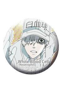 ACG はたらく細胞 54mm缶バッジ 白血球(好中球)