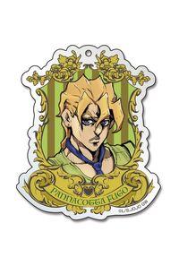 メディコス・エンタテインメント TVアニメ「ジョジョの奇妙な冒険 黄金の風」エンブレムアクリルキーホルダー 6パンナコッタ・フーゴ