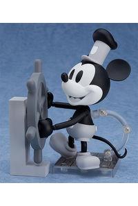 グッドスマイルカンパニー 蒸気船ウィリー ねんどろいど ミッキーマウス 1928 Ver.(シロクロ) 完成品