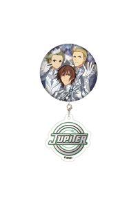 キャラアニ アイドルマスター SideM アクリルチャーム付缶バッジ Jupiter