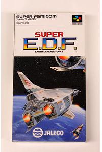 【中古】SUPER E.D.F.【スーパーファミコン】