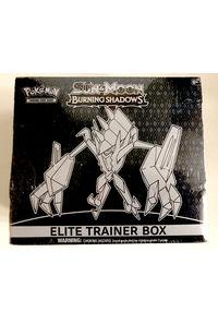 【中古】【英語版】ポケモンカードゲーム 「BURNING SHADOWS」ELITE TRAINER BOX