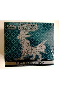 【中古】【英語版】ポケモンカードゲーム 「CRIMSON INVASION」ELITE TRAINER BOX