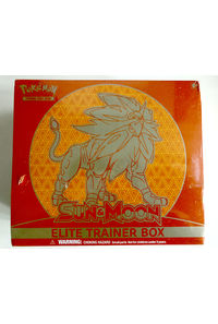 【中古】【英語版】ポケモンカードゲーム 「SUN&MOON」「ソルガレオ」ELITE TRAINER BOX