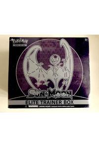 【中古】【英語版】ポケモンカードゲーム 「SUN&MOON」「ルナアーラ」ELITE TRAINER BOX