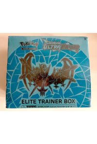 【中古】【英語版】ポケモンカードゲーム 「SUN&MOON ULTRA PRISM」「ネクロズマあかつきのつばさ」ELITE TRAINER BOX