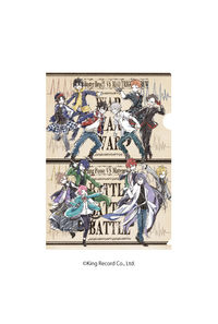 A3 クリアファイル「ヒプノシスマイク-Division Rap Battle-」02/VSデザイン(グラフアート)