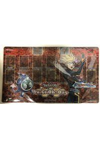 【中古】遊戯王 Yu-Gi-Oh!Day プレイマット 「Playmaker&リンクリボー」