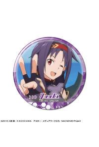 ライセンスエージェント ソードアート・オンライン 缶バッジ デザイン36(ユウキ/A)