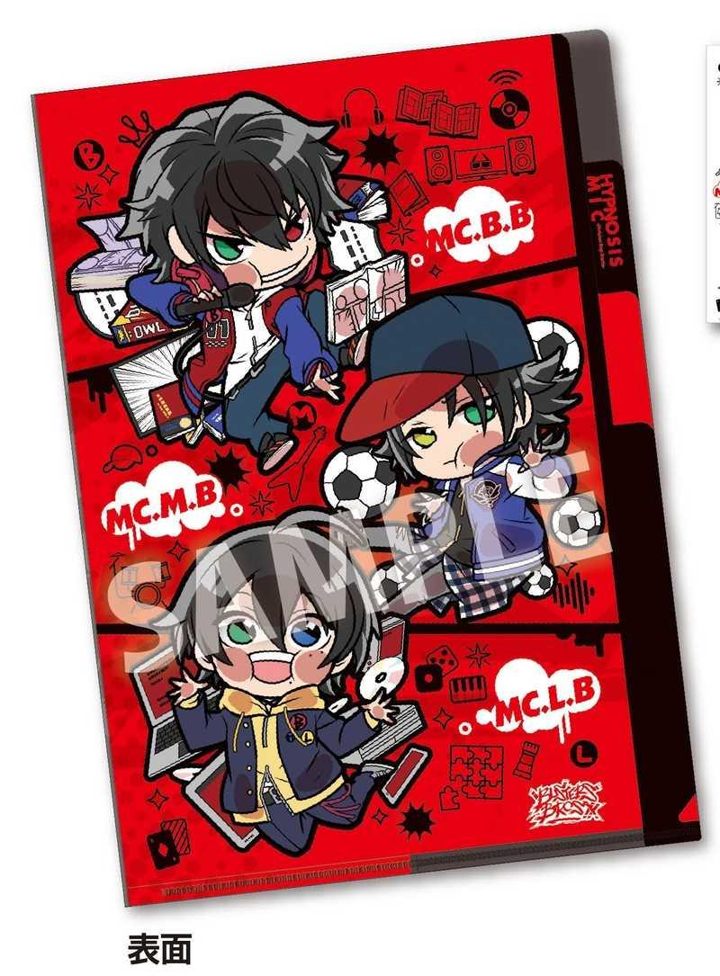 タカラトミーアーツ ぴた!でふぉめ ヒプノシスマイク-Division Rap Battle- 3ポケットクリアファイル Buster Bros!!!(Vol.2)