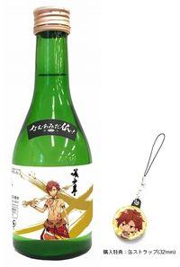 【なむあみだ仏っ!-蓮台 UTENA-】美少年(純米吟醸酒 菊池300ml) 不動明王