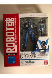 【中古】【ROBOT魂】『ブレイヴ』指揮官試験機