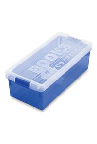 【単品販売用】ブック&メディアケース ブルー