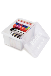 【単品販売用】ブック&メディアケース ミニ ナチュラル