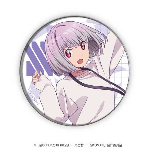 A3 缶バッジ「SSSS.GRIDMAN」04/新条アカネ(公式描き下ろし)