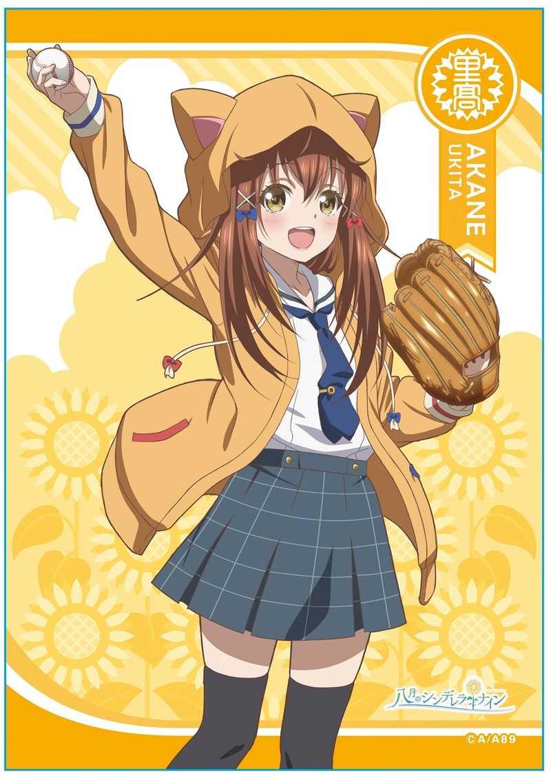 メディコス・エンタテインメント TVアニメ「八月のシンデレラナイン」A4マルチクロス(5) 宇喜多茜