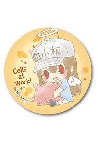 ベルハウス ぎゅぎゅっと缶バッチ はたらく細胞 エンジェルシリーズ -Design produced by Sanrio- 血小板