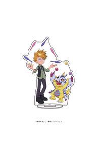 A3 キャラアクリルフィギュア「デジモンアドベンチャー」02 石田ヤマト&ガブモン