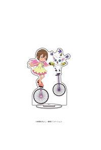 A3 キャラアクリルフィギュア「デジモンアドベンチャー」03 八神ヒカリ&テイルモン