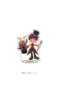 A3 キャラアクリルフィギュア「デジモンアドベンチャー」08 泉光子郎&テントモン