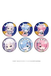 A3 缶バッジ「Re:ゼロから始める異世界生活」02 ミニキャラ 夏ver. BOX