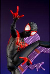 コトブキヤ SPIDER-MAN: Into the SPIDER-VERSE ARTFX+ マイルス・モラレス ヒーロースーツ 簡易組立キット