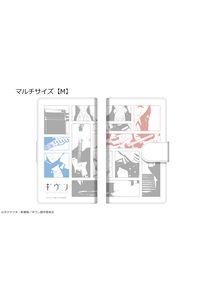カナリア ギヴン ダイアリースマホケース 01 for マルチサイズ【M】 佐藤真冬&上ノ山立夏