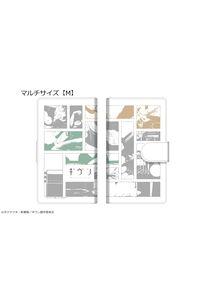 カナリア ギヴン ダイアリースマホケース 02 for マルチサイズ【M】 中山春樹&梶秋彦