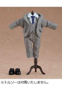 グッドスマイルカンパニー ねんどろいどどーる おようふくセット(スーツ:グレー)