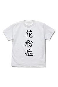 コスパ はたらく細胞 花粉症 Tシャツ WHITE-L