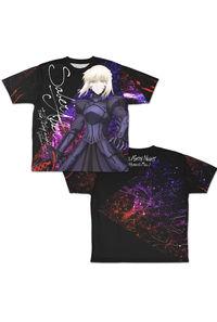 コスパ Fate/stay night [Heaven's Feel] セイバーオルタ 両面フルグラフィックTシャツ-L