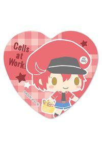 ベルハウス ハート缶バッジ はたらく細胞 -Design produced by Sanrio- 赤血球