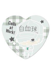 ベルハウス ハート缶バッジ はたらく細胞 -Design produced by Sanrio- 白血球 (好中球)