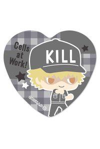 ベルハウス ハート缶バッジ はたらく細胞 -Design produced by Sanrio- キラーT細胞