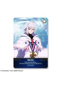 ライセンスエージェント Fate/Grand Order -絶対魔獣戦線バビロニア- レザーパスケース デザイン07(マーリン)