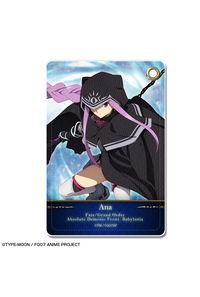 ライセンスエージェント Fate/Grand Order -絶対魔獣戦線バビロニア- レザーパスケース デザイン08(アナ)