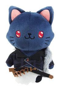 ムービック グランブルーファンタジー withCAT アイマスク付きぬいぐるみキーホルダー ベリアル