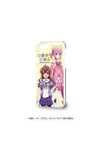 A3 ハードケース(iPhone6/6s/7/8兼用)「まちカドまぞく」01/優子&桃