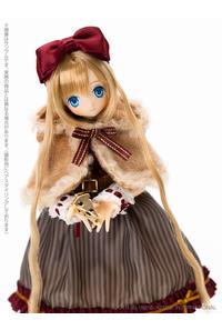 アゾン えっくす☆きゅーとふぁみりー:Alice's TeaParty~お菓子なお茶会~眠りねずみさん つきは 完成品