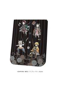 A3 レザーフセンブック「鬼滅の刃」01/四人集合デザイン(グラフアート)