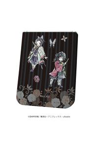 A3 レザーフセンブック「鬼滅の刃」02/二人集合デザイン(グラフアート)