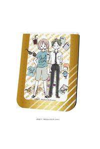A3 レザーフセンブック「onBLUE作品」04/STAYGOLD/コウ&日高(グラフアート)