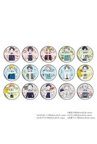 A3 缶バッジ「onBLUE作品」01(グラフアート) BOX