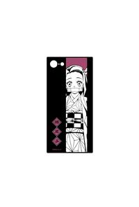 アルマビアンカ 鬼滅の刃 竈門禰豆子 スクエア強化ガラスiPhoneケース(対象機種/iPhone 7 Plus/8 Plus)