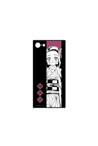アルマビアンカ 鬼滅の刃 竈門禰豆子 スクエア強化ガラスiPhoneケース(対象機種/iPhone X)