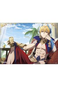 ムービック 「Fate/Grand Order -絶対魔獣戦線バビロニア-」 ミニクリアポスター ギルガメッシュ2