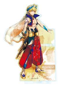 ツインクル Fate/Grand Order -絶対魔獣戦線バビロニア- ウェットカラーシリーズ アクリルペンスタンド ギルガメッシュ