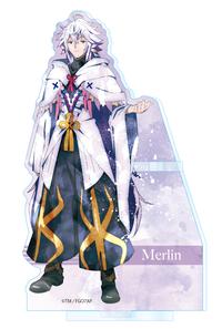 ツインクル Fate/Grand Order -絶対魔獣戦線バビロニア- ウェットカラーシリーズ アクリルペンスタンド マーリン